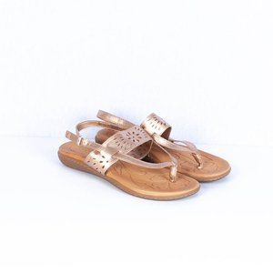 B.O.C Clearwater Slingback Sandals Rose Gold Sz 7